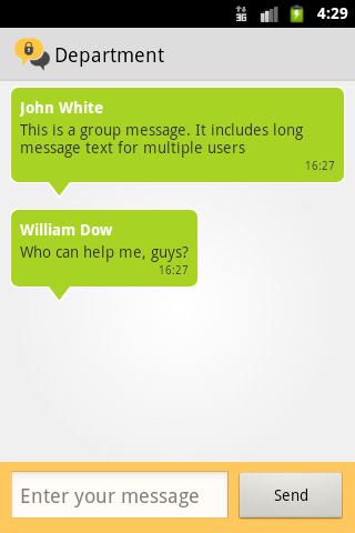 Bopup Messenger for Android