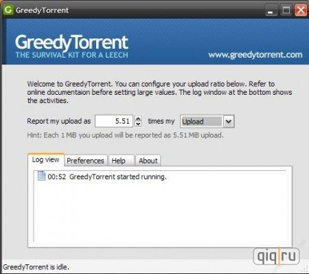 Greedy Torrent